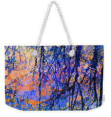 Bold Tree Reflections Weekender Tote Bag