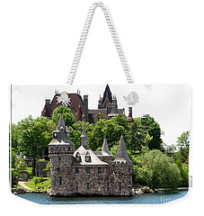 Boldt Castle And Powerhouse Weekender Tote Bag by Rose Santuci-Sofranko