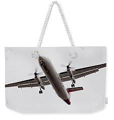 Bombardier Dhc 8 Weekender Tote Bag by Steven Ralser