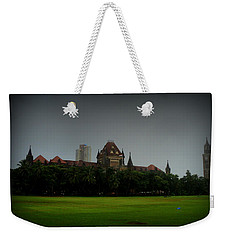 Weekender Tote Bag featuring the photograph Bombay High Court by Salman Ravish