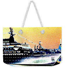 Bon Voyage Weekender Tote Bag by Will Borden