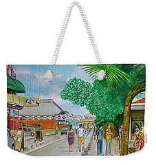 Bonaire Street Weekender Tote Bag by Frank Hunter