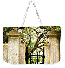Bonaventure Cemetery Gate Savannah Ga Weekender Tote Bag