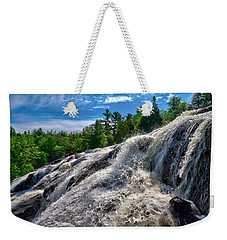 Bond Falls   Weekender Tote Bag by Lars Lentz