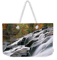 Bond Falls Upper Peninsula Michigan Weekender Tote Bag