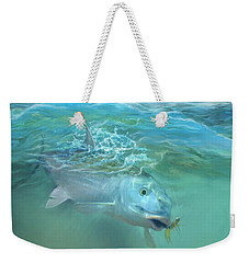 Bone Fish Weekender Tote Bag by Rob Corsetti