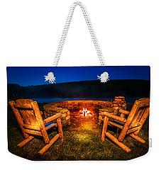 Bonfire Weekender Tote Bag by Alexey Stiop