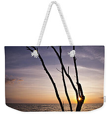 Weekender Tote Bag featuring the photograph Bonita Beach Tree by Bradley R Youngberg