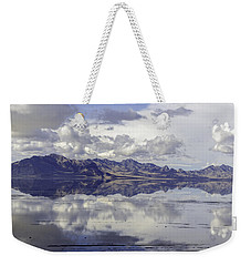 Bonneville Salt Flats Weekender Tote Bag