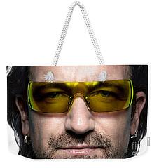 Bono  Weekender Tote Bag by Marvin Blaine