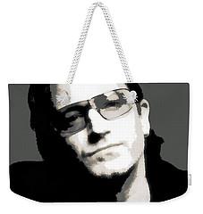 Bono Poster Weekender Tote Bag by Dan Sproul