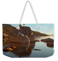 Bonsai Rock Weekender Tote Bag by Jonathan Nguyen