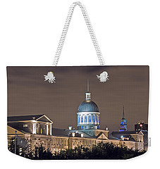 Bonsecours At Night Weekender Tote Bag
