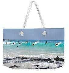 Boogie Up Weekender Tote Bag by Denise Bird