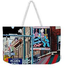 Boogie On Beale St Memphis Tn Weekender Tote Bag