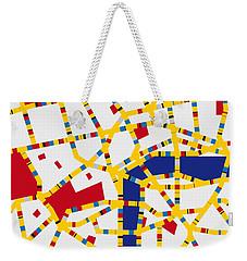 Boogie Woogie London Weekender Tote Bag by Chungkong Art