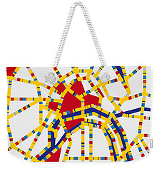 Boogie Woogie Moscow Weekender Tote Bag by Chungkong Art