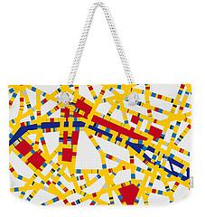 Boogie Woogie Paris Weekender Tote Bag