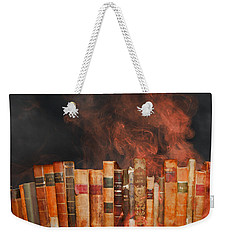 Book Burning Inspired By Fahrenheit 451 Weekender Tote Bag