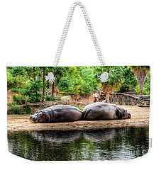 Book Ends Weekender Tote Bag by Ray Warren