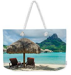 Bora Bora Beach Weekender Tote Bag