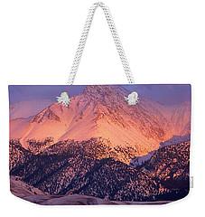 Borah Peak  Weekender Tote Bag