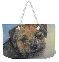 Border Terrier Jack Weekender Tote Bag