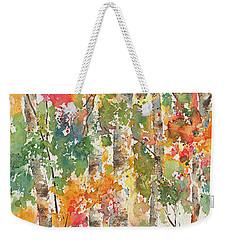 Boreal Brilliance Weekender Tote Bag by Pat Katz