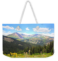 Boreas Pass Summer Weekender Tote Bag by Lanita Williams