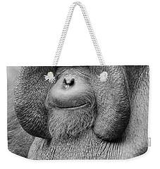 Bornean Orangutan IIi Weekender Tote Bag by Lourry Legarde