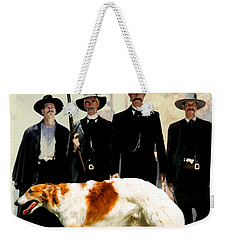 Borzoi Art - Tombstone Movie Poster Weekender Tote Bag