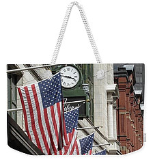 Boston 4th Of July Weekender Tote Bag by Kerri Mortenson