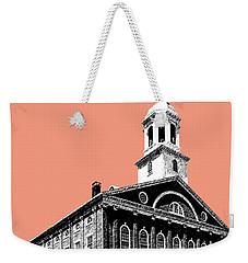 Boston Faneuil Hall - Salmon Weekender Tote Bag