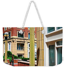 Boston Interior Weekender Tote Bag