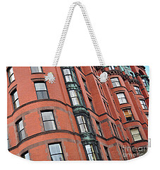 Boston Ma Building Facade Weekender Tote Bag
