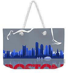 Boston Marathon3 Weekender Tote Bag