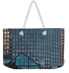 Boston Reflections Weekender Tote Bag