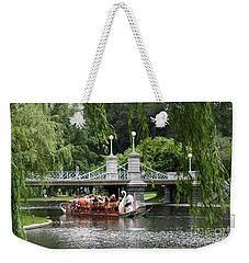 Boston Swan Boat Weekender Tote Bag