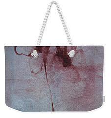 Weekender Tote Bag featuring the painting Botanical Flowers by Jani Freimann