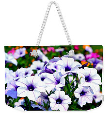 Weekender Tote Bag featuring the photograph Botanical Medley by Deena Stoddard