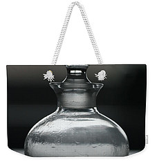 Weekender Tote Bag featuring the photograph Bottle by Joy Watson