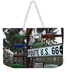 Bottle Trees Route 66 Weekender Tote Bag