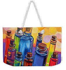 Bottled Rainbow Weekender Tote Bag