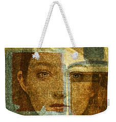 Bottled Up Weekender Tote Bag by Michael Cinnamond
