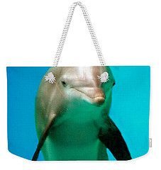 Bottlenose Dolphin Portrait Weekender Tote Bag