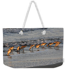 Bottoms Up Weekender Tote Bag by Kay Lovingood