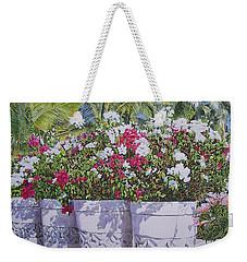 Bougainvillea Weekender Tote Bag