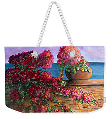 Bountiful Bougainvillea Weekender Tote Bag