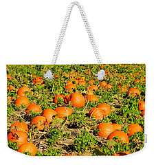 Bountiful Crop Weekender Tote Bag by Kathy Barney
