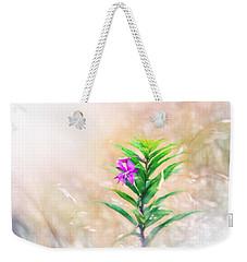Flower In Digital Watercolor Weekender Tote Bag